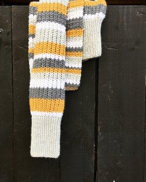 Haakpakket sjaal/bolero Feng shui S/M