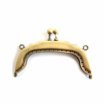 Portemonneesluiting brons 8cm