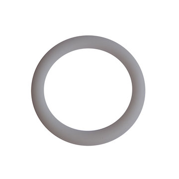Siliconen ring 3 cm wit