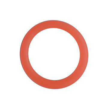 Siliconen ring 3 cm oranje