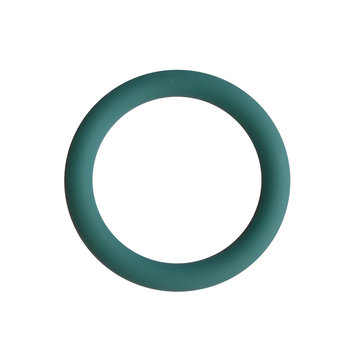 Siliconen ring 3 cm turquoise