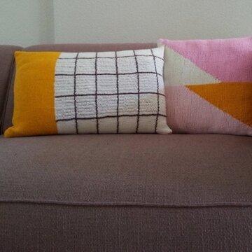 Breipakket Geometrisch kussen II inclusief gratis patroon