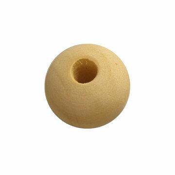 Houten kraal 25 mm