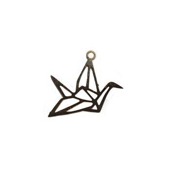 Bedel kraanvogel zilver