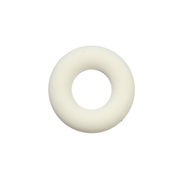Siliconen donut 4,5 cm creme