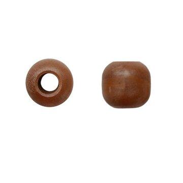 Houten kraal 20 mm met groot gat