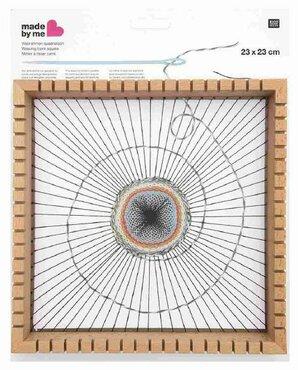 Weefraam vierkant 23x23 cm