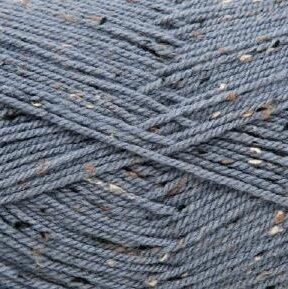 Super Big Tweed Aran 003 jeansblauw