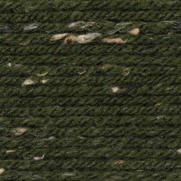 Super Big Tweed Aran 007 olijf