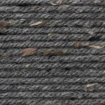 Super Big Tweed Aran 008 grijs