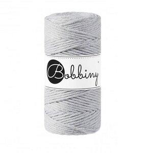 Bobbiny Macrame 3mm light grey