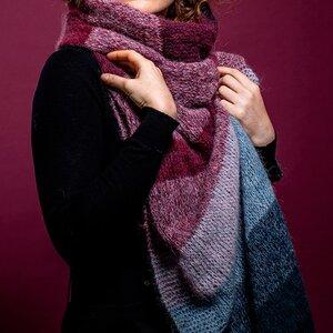 Breipakket sjaal Alpaca Cloud Catherine