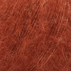 Drops Alpaca Silk Brushed roest
