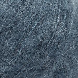 Drops Alpaca Silk Brushed staalblauw