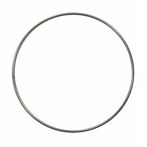 Metalen ring ongelakt