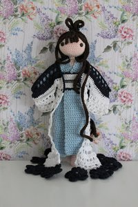 Garenpakket Amilishly Dolls popje Natsumi
