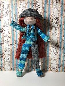 Garenpakket Amilishly Dolls popje Kosuke (tweede kleur)