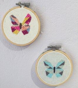 Punchpakket vlinders