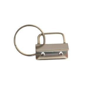 Sleutelhanger zilver 25mm
