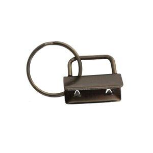 Sleutelhanger oudzilver 25mm