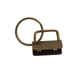 Sleutelhanger brons 25mm