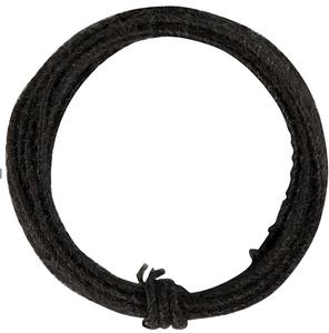 Jutekoord zwart 3meter
