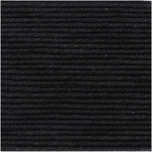 Essentials Organic Cotton Aran 020 zwart