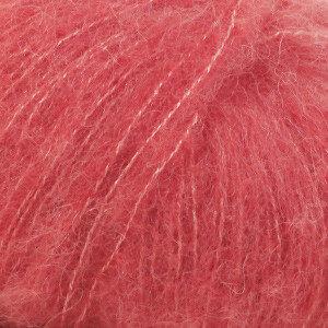 Alpaca Silk brushed koraal