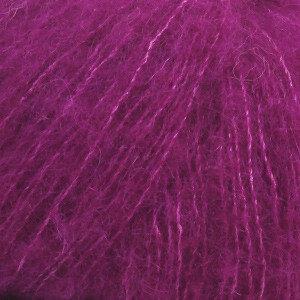 Alpaca Brushed silk paars