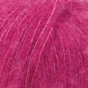 Alpaca Brushed Silk Cerise
