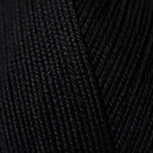 Essentials Cotton DK Black