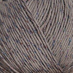 Cotton DK glitz lichtgrijs