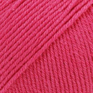 Cotton merino roze