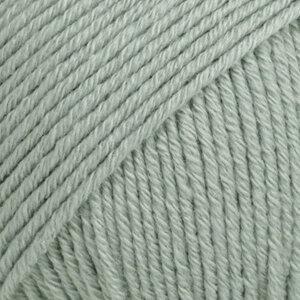 Cotton Merino zeegroen