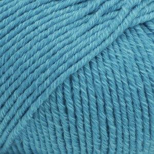 Cotton merino turquoise