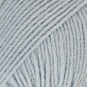 Cotton merino ijsblauw