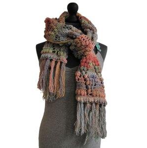 Haakpakket sjaal Creative Melange DK