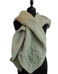 Haakpakket sjaal/hoodie