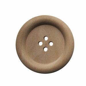 Houten knoop 3,5cm