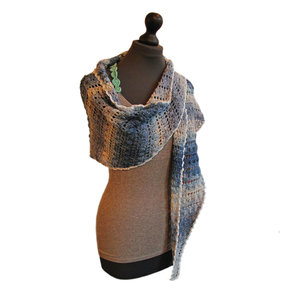 Haakpakket Merino sjaal