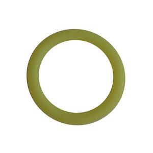 Siliconen ring 3 cm limegroen