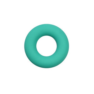 Siliconen donut turquoise