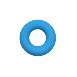Siliconen donut blauw