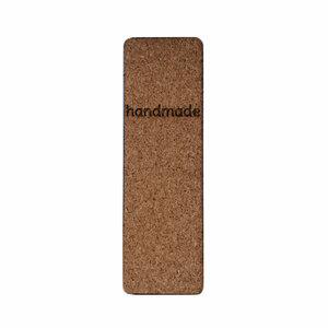 Kurk label Handmade