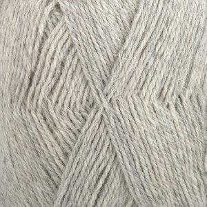 Drops Alpaca zeer licht grijs