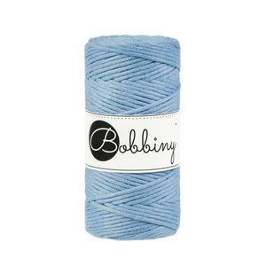 Bobbiny Macrame 3mm baby blue