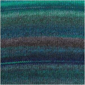 Creative melange Chunky blauw/groen