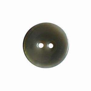 Geemailleerde knoop donkergrijs