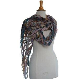 Haakpakket sjaal mille colori Lang Yarns
