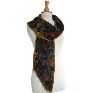 Haakpakket Patchwork Sjaal Mille Colori Lang Yarns Wolcafé Is De